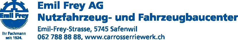 logo EMIL FREY AG CARROSSERIEWERK